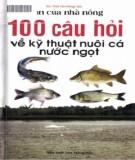 Cá nước ngọt và 100 câu hỏi về kỹ thuật nuôi: Phần 2