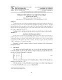 Thuật toán mô tả các đại số ma trận