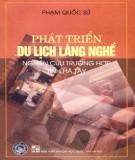 Nghiên cứu phát triển du lịch làng nghề - Trường hợp tỉnh Hà Tây: Phần 1