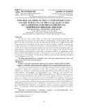 Tổng hợp, xác định cấu trúc và thăm dò khả năng gây độc tế bào của các phức Cu(ii), Zn(ii) và Ni(ii) chứa 4 Dimethylaminobenzaldehyde N(4) – Morpholinylthiosemicarbazone