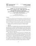 Nghiên cứu, ứng dụng một số bài tập nhằm nâng cao hiệu quả kĩ - chiến thuật đôi công cho sinh viên chuyên sâu bóng bàn trường Đại học Sư phạm thành phố Hồ Chí Minh