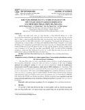 Khả năng đối kháng của vi khuẩn Bacillus sp. với vi nấm Neoscytalidium dimidiatum gây bệnh đốm trắng trên thanh long