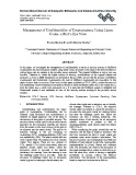 Management of confidentiality of cryptosystems using linear codes  a bird's eye view