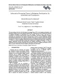 Information processing theory in budgetary participation: Its antecedent and consequence