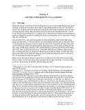 Chương trình Giảng dạy Kinh tế Fulbright: Chương 13 - Chi phí cơ hội của kinh tế lao động