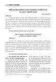 Điều hành chính sách tài khóa ở Việt Nam và gợi ý chính sách