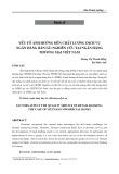 Yếu tố ảnh hưởng đến chất lượng dịch vụ ngân hàng bán lẻ: Nghiên cứu tại ngân hàng thương mại Việt Nam