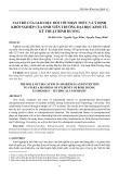 Vai trò của giáo dục đối với nhận thức và ý định khởi nghiệp của sinh viên trường Đại học Kinh tế Kỹ thuật Bình Dương