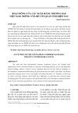 Hoạt động của các ngân hàng thương mại Việt Nam: Những vấn đề cần quan tâm hiện nay