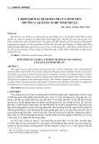 Ý định khởi sự kinh doanh của sinh viên trường Cao đẳng Nghề Ninh Thuận