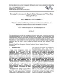 Studying performance in supply chain management using data mining software