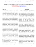 Multilayer coding mechanisms for broadcasting over mimo networks