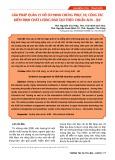 Giải pháp quản lý hồ sơ minh chứng phục vụ công tác kiểm định chất lượng đào tạo theo chuẩn AUN - QA