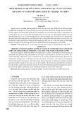 Kiểm định quan hệ giữa chất lượng đào tạo và sự cảm nhận hài lòng của sinh viên khoa kinh tế - Đại học Văn Hiến