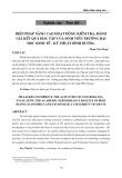 Biện pháp nâng cao hoạt động kiểm tra, đánh giá kết quả học tập của sinh viên trường Đại học Kinh tế - Kỹ thuật Bình Dương