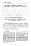 Tác động của chính sách tiền tệ đến giá cổ phiếu trên thị trường chứng khoán Việt Nam
