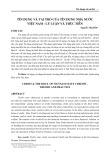 Tín dụng và vai trò của tín dụng nhà nước Việt Nam - lý luận và thực tiễn