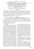 Giá trị thương hiệu: Nghiên cứu thực hiện với sản phẩm thanh long Bình Thuận