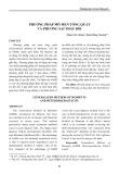 Phương pháp mô men tổng quát và phương sai thay đổi