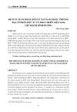 Dịch vụ ngân hàng bán lẻ tại ngân hàng thương mại cổ phần đầu tư và phát triển Việt Nam, chi nhánh Bình Dương