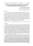 Nghiên cứu sự sinh trưởng, phát triển và năng suất nấm Vân chi (Trametes versicolor) trên nguyên liệu mùn cưa cao su với tỷ lệ giống cấy khác nhau tại tỉnh Thừa Thiên Huế