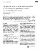 Khảo sát hoạt tính sinh học của chất biến dưỡng từ hệ endophyte cây thông đỏ lá dài (Taxus wallichiana Zucc., Taxaceae)