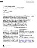 Xây dựng mô hình docking của các chất ức chế bơm ngược ABCC2/MRP2