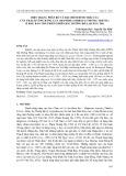 Hiện trạng phân bố và đặc điểm hình thái của cây Thạch tùng răng cưa (Huperzia serrata (Thunb.) Trevis.) ở khu bảo tồn thiên nhiên Bắc Hướng Hóa, Quảng Trị