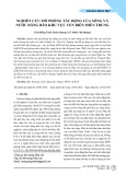 Nghiên cứu mô phỏng tác động của sóng và nước dâng bão khu vực ven biển miền Trung