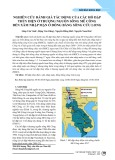 Nghiên cứu đánh giá tác động của các hồ đập thủy điện ở thượng nguồn sông mê công đến xâm nhập mặn ở Đồng bằng Sông Cửu Long