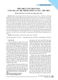 Diễn biến xâm nhập mặn vùng hạ lưu hệ thống sông Vu Gia - Thu Bồn