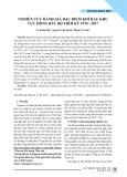 Nghiên cứu đánh giá đặc điểm khí hậu Khu vực Đông Bắc Bộ thời kỳ 1970-2017