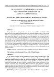 Tái định vị và tái bố trí mặt bằng kho: Một tình huống nghiên cứu tại công ty Clipsal Viet Nam