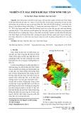 Nghiên cứu đặc điểm khí hậu tỉnh Ninh Thuận