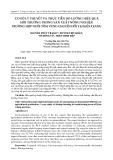 Cơ sở lý thuyết và thực tiễn đo lường hiệu quả môi trường trong sản xuất nông nghiệp: trường hợp nuôi tôm vùng chuyển đổi tại Kiên Giang