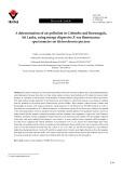 A determination of air pollution in Colombo and Kurunegala, Sri Lanka, using energy dispersive X-ray fluorescence spectrometry on Heterodermia speciosa