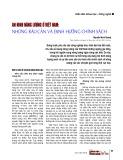An ninh năng lượng ở Việt Nam: Những rào cản và định hướng chính sách