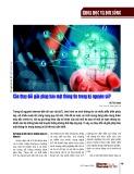 Cần thay đổi giải pháp bảo mật thông tin trong kỷ nguyên số