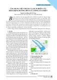 Ứng dụng viễn thám và GIS nghiên cứu biến động đường bờ ở cửa sông Cổ Chiên