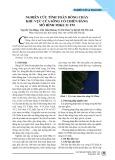 Nghiên cứu tính toán dòng chảy khu vực cửa sông Cổ Chiên bằng mô hình MIKE 21 FM