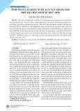 Tính toán cân bằng nước lưu vực Sesan cho đợt hạn hán lịch sử 2015-2016