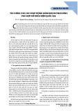 Tài chính cho các hoạt động giảm nhẹ khí nhà kính phù hợp với điều kiện Quốc gia