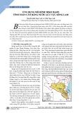 Ứng dụng mô hình MIKE BASIN tính toán cân bằng nước lưu vực sông Lam