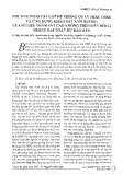 Phương pháp giả lập hệ thống quan trắc OSSE và ứng dụng khảo sát ảnh hưởng của số liệu thám sát cao không trên biển Đông