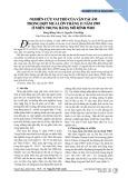 Nghiên cứu vai trò của vận tải ẩm trong đợt mưa lớn tháng 11 năm 1999 ở miền Trung bằng mô hình WRF