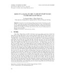 Khảo cứu lai lịch, cấu trúc và một số vấn đề văn bản của bộ sách Sài Sơn thi lục