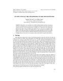 Cấu trúc năng lực thực hành sinh học của học sinh chuyên sinh