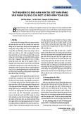 Thử nghiệm dự báo hạn hán tại Việt Nam bằng sản phẩm dự báo của một số mô hình toàn cầu