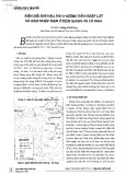 Biến đổi khí hậu ảnh hưởng đến ngập lụt và xâm nhập mặn ở Kiên Giang và Cà Mau