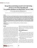 Kết quả khảo sát ảnh hưởng của một số yếu tố môi trường nuôi cấy in vitro tới khả năng kháng nấm Neoscytalidium dimidiatum của chủng Bacillus velezensis YMĐ1